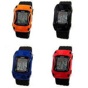 Reloj SKMEI 0961 para niños forma de coche