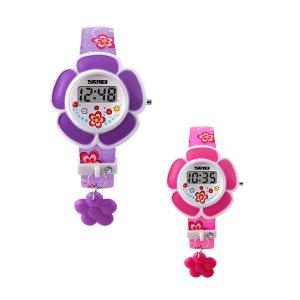 Reloj SKMEI 1144 para niños digital forma de flor