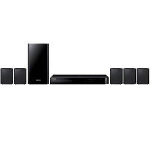 Minicomponente Samsung HT-J4500 Sistema inteligente de sonido doméstico Blue-ray Negro