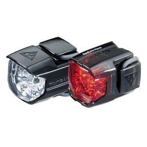 Combo de luces delantera + Trasera TOPEAK WHITELIGHT & REDLIGHT RACE