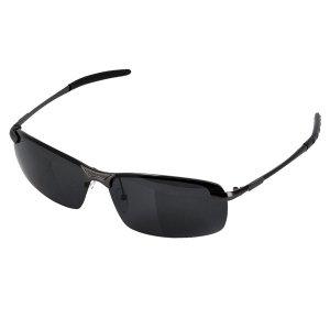 Gafas del sol polarizadas semi-marco deportivo y de moda