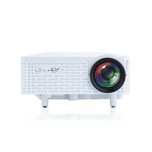 Uhappy U18 Mini Proyector LED para Apple y Android
